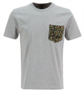 Tee-shirt poche poitrine imprime motifs fantaisie-2