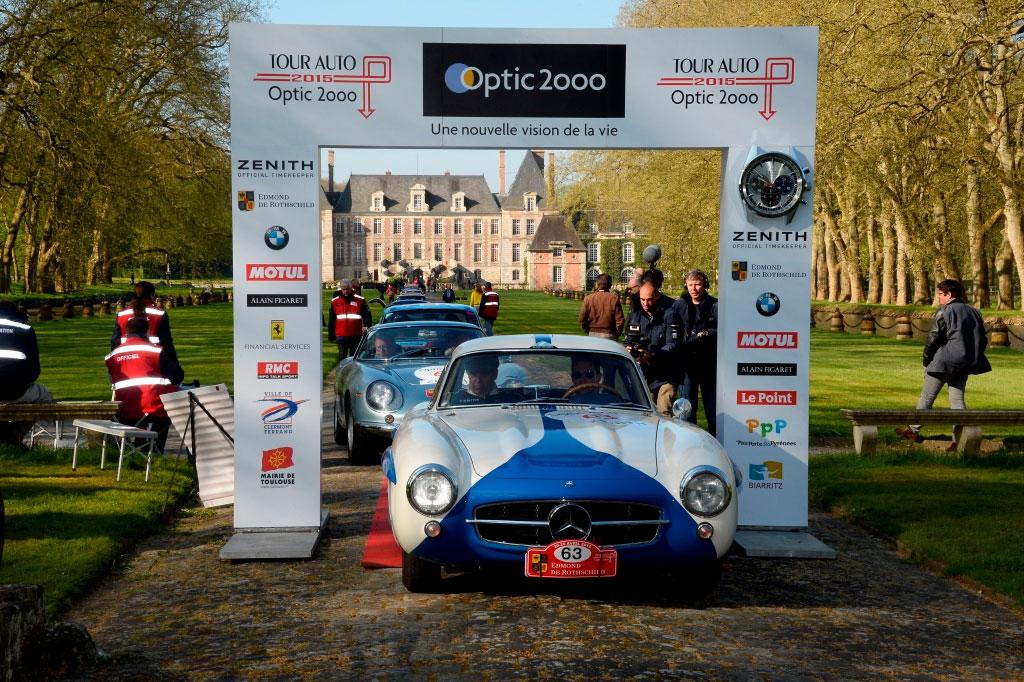 Zenith, chronométreur officiel du Tour Auto 2015