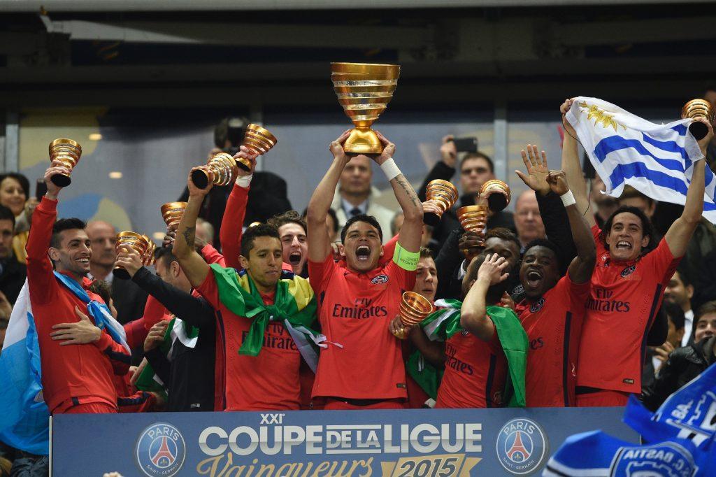 Le PSG a remporté la Coupe de la Ligue