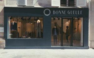 Boutique BonneGueule à Paris. Crédit : Bonnegeule.fr