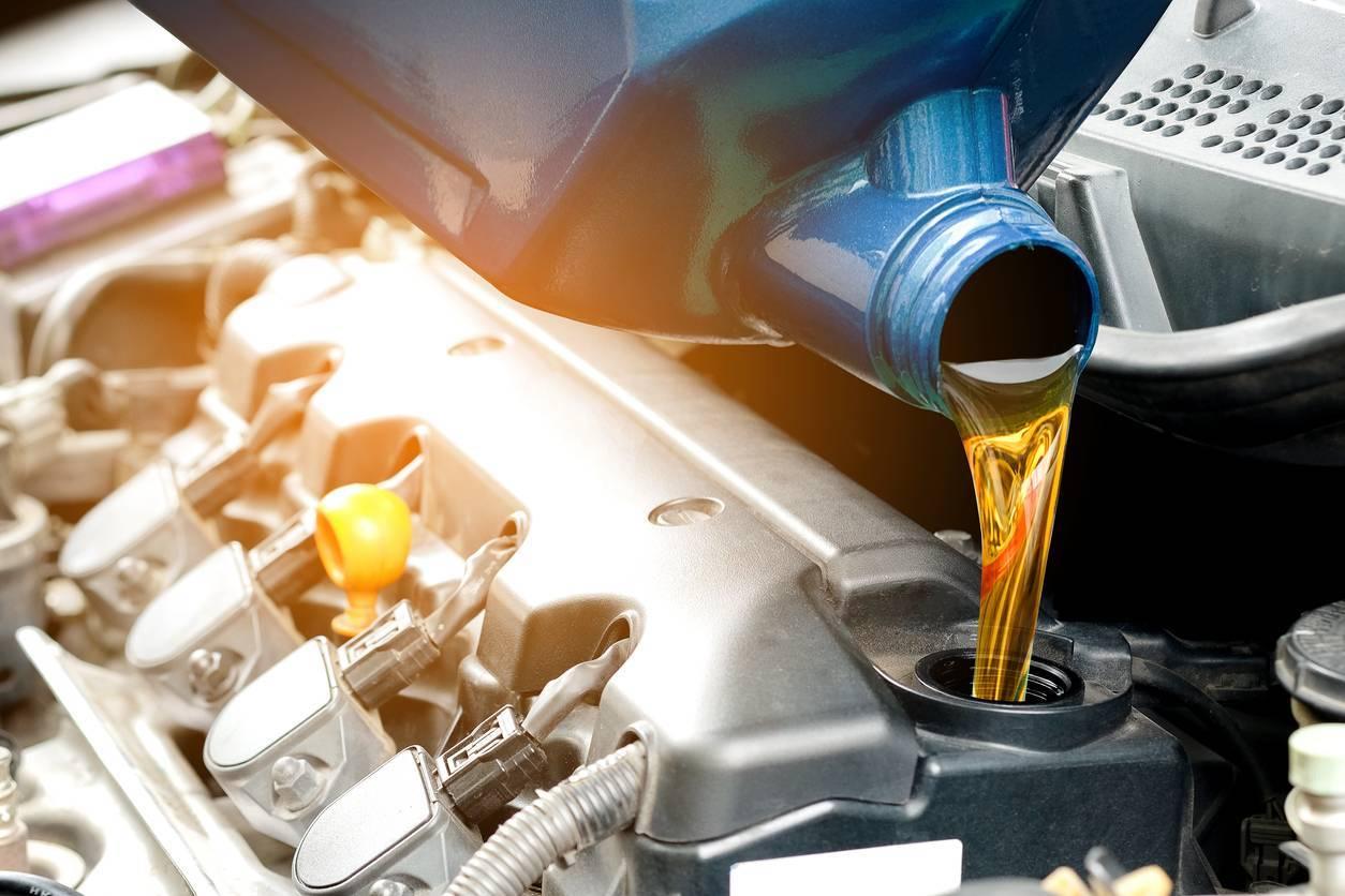 huile moteur véhicule